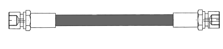 CENTRIC PARTS - Brake Hydraulic Hose (Rear) - CEC 150.37303