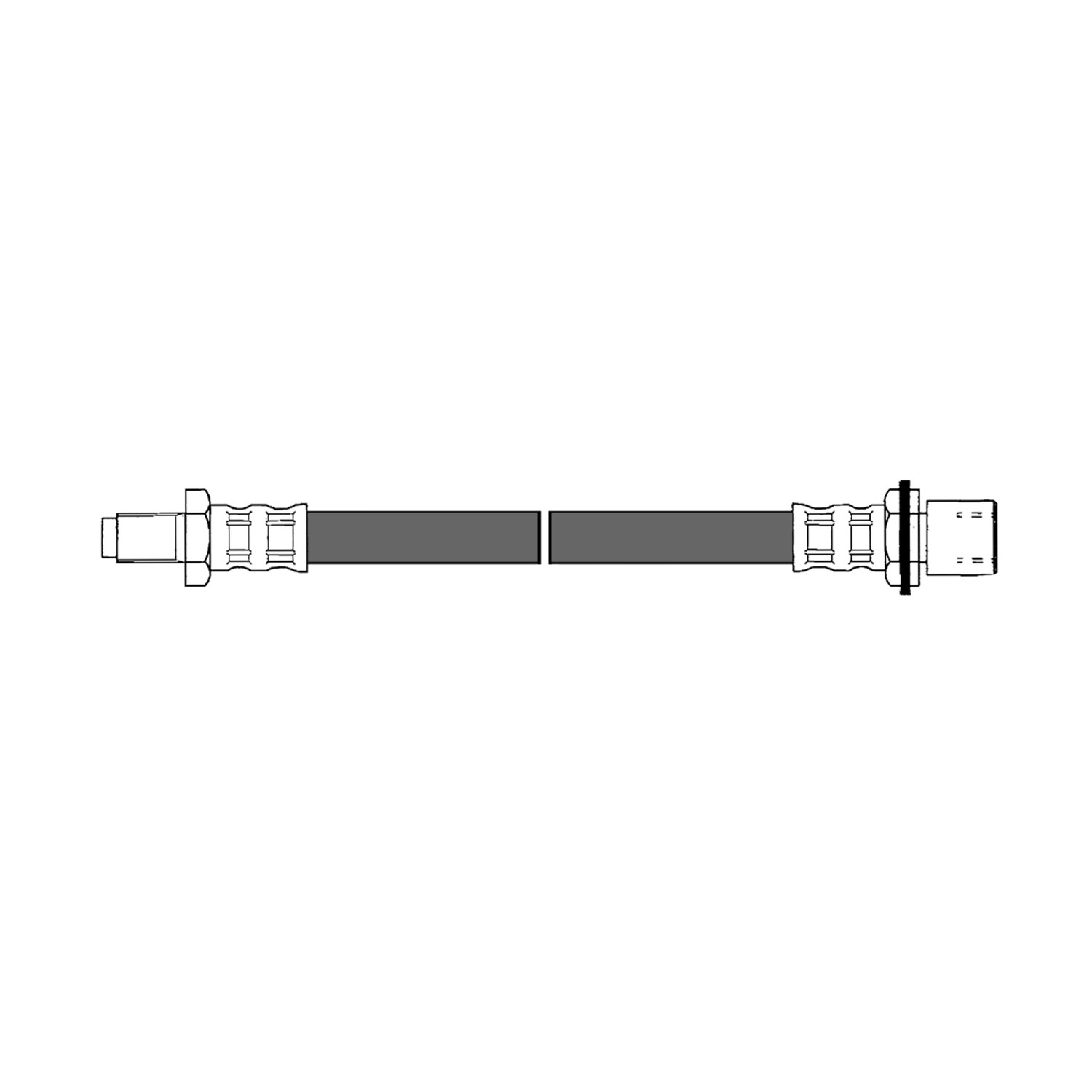 CENTRIC PARTS - Brake Hydraulic Hose (Rear Lower) - CEC 150.44316