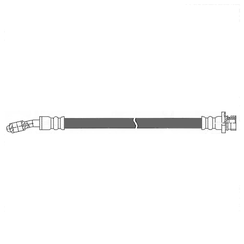 CENTRIC PARTS - Brake Hydraulic Hose (Rear Right) - CEC 150.51335