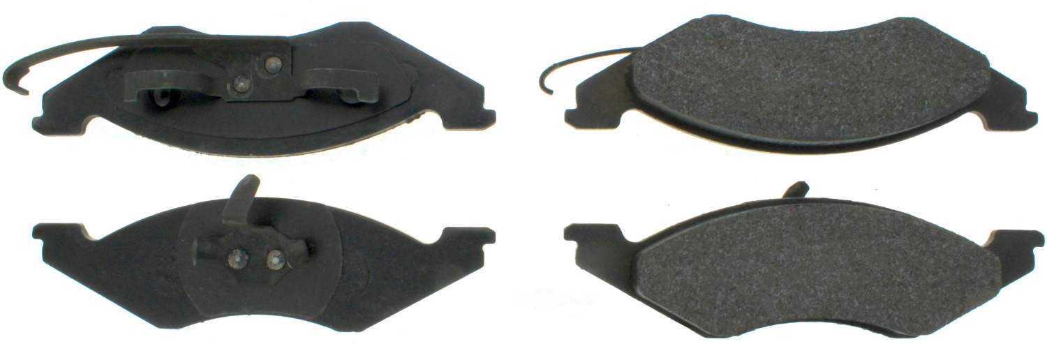 CENTRIC PARTS - Premium Semi-Met Pads w/Shim and Hardware (Front) - CEC 300.02570