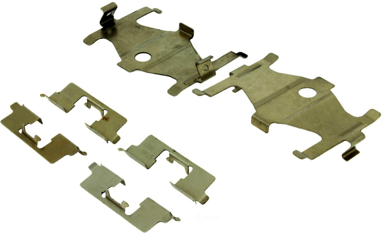 CENTRIC PARTS - Premium Semi-Met Pads w/Shim and Hardware (Rear) - CEC 300.03230