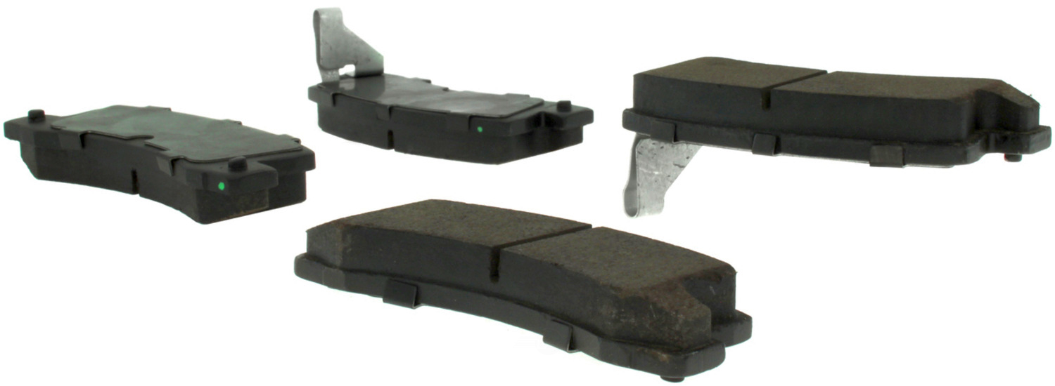 CENTRIC PARTS - Premium Semi-Met Pads w/Shim and Hardware (Rear) - CEC 300.03250