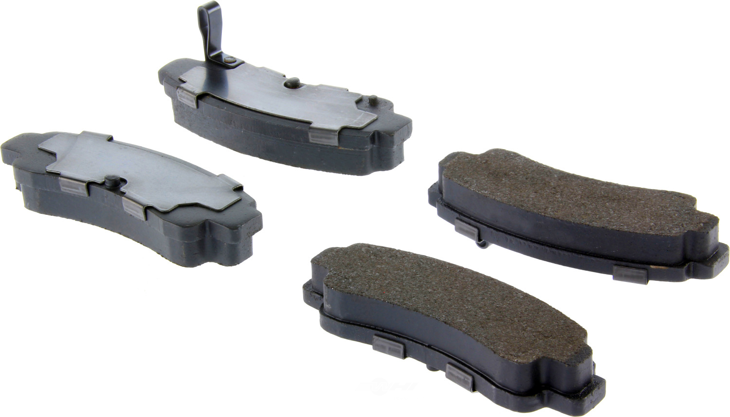 CENTRIC PARTS - Premium Semi-Met Pads w/Shim and Hardware (Rear) - CEC 300.05110