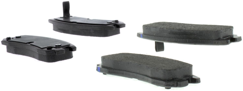 CENTRIC PARTS - Premium Semi-Met Pads w/Shim and Hardware - CEC 300.06980