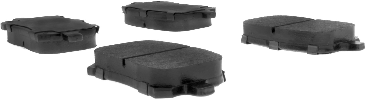 CENTRIC PARTS - Premium Semi-Met Pads w/Shim and Hardware (Front) - CEC 300.07070