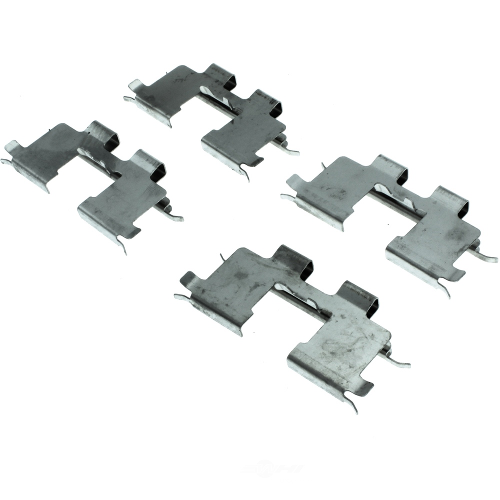 CENTRIC PARTS - Premium Semi-Met Pads w/Shim and Hardware (Rear) - CEC 300.08130