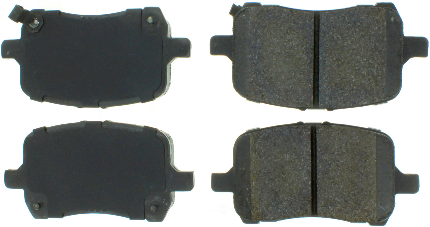 CENTRIC PARTS - Premium Semi-Met Pads w/Shim and Hardware (Front) - CEC 300.10280