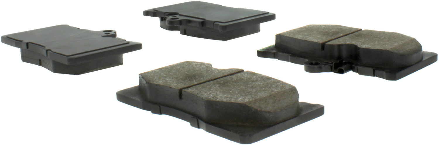 CENTRIC PARTS - Premium Semi-Met Pads w/Shim and Hardware (Front) - CEC 300.11180