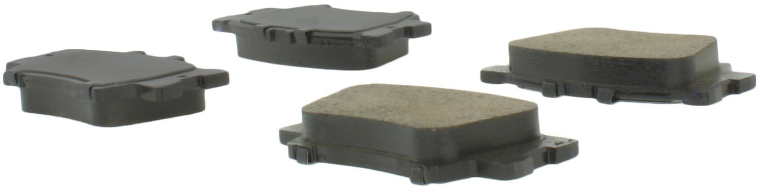 CENTRIC PARTS - Premium Semi-Met Pads w/Shim and Hardware (Rear) - CEC 300.12120