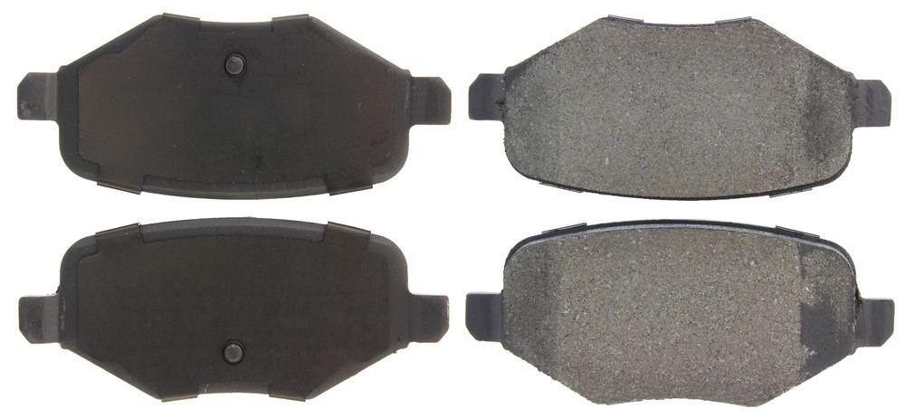 CENTRIC PARTS - Premium Semi-Met Pads w/Shims (Rear) - CEC 300.13770