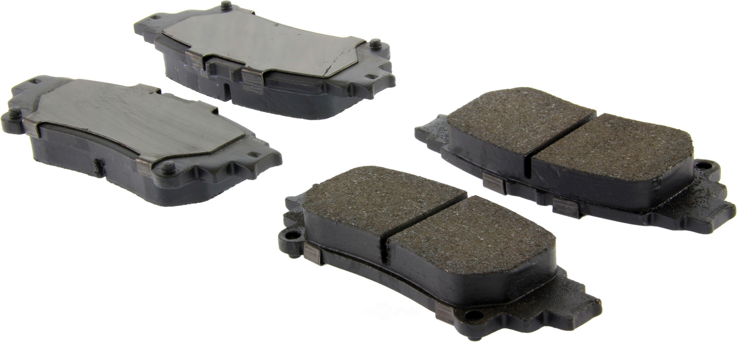CENTRIC PARTS - Premium Semi-Met Pads w/Shim and Hardware (Rear) - CEC 300.13910