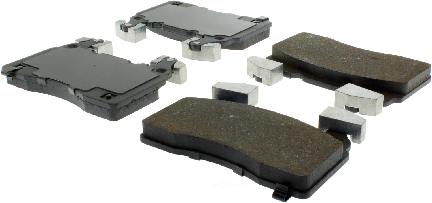 CENTRIC PARTS - Premium Semi-Met Pads w/Shim and Hardware (Front) - CEC 300.14741