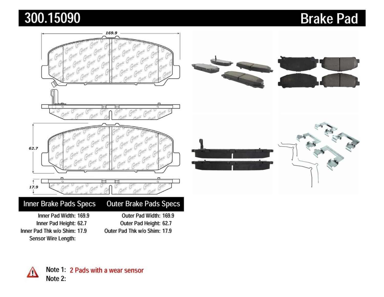 MGP Caliper Brake Covers For Chevrolet 2010-2014 Camaro Yellow Paint 14033SCCSYL
