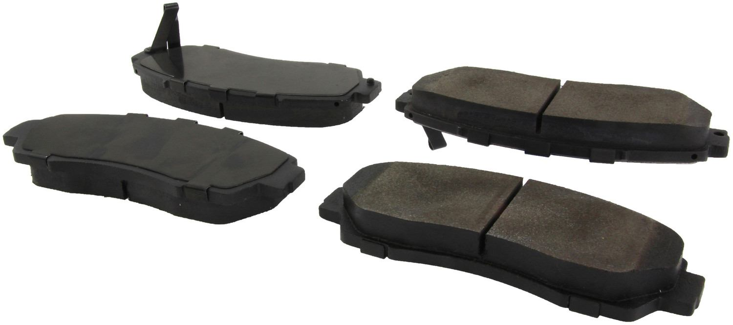 CENTRIC PARTS - Premium Semi-Met Pads w/Shim and Hardware (Front) - CEC 300.15210