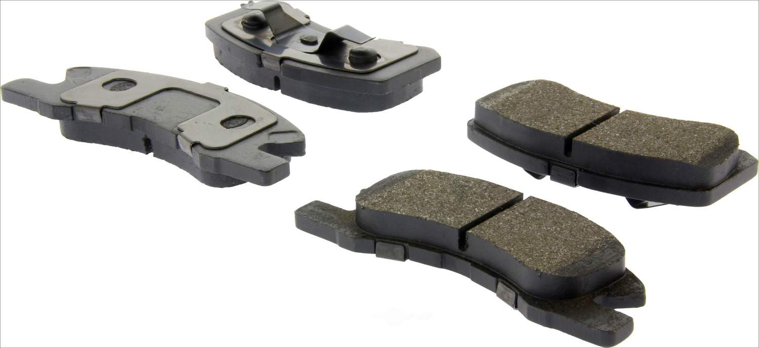 CENTRIC PARTS - Premium Semi-Met Pads w/Shim and Hardware (Front) - CEC 300.17310