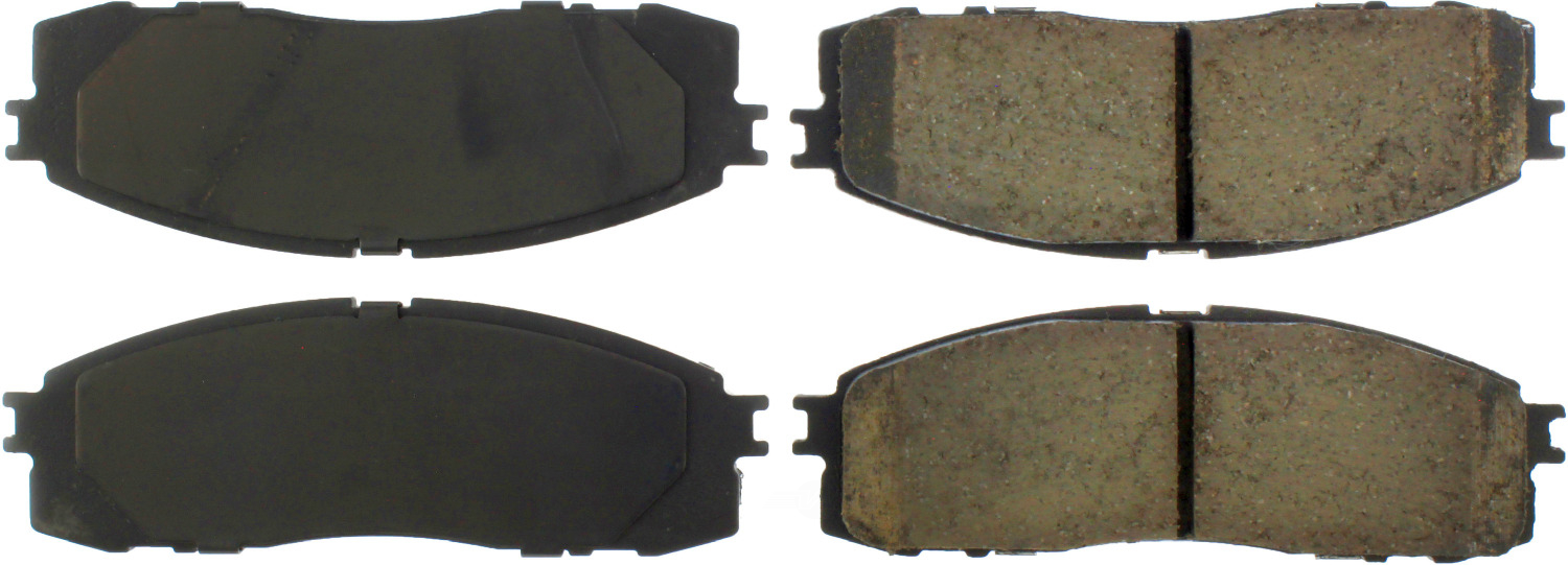 CENTRIC PARTS - Premium Ceramic Pads w/Shims (Rear) - CEC 301.06220
