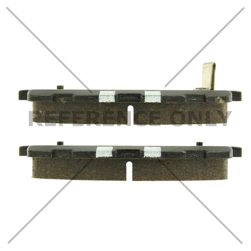 CENTRIC PARTS - Premium Ceramic Pads w/Shims & Hardware - CEC 301.16980