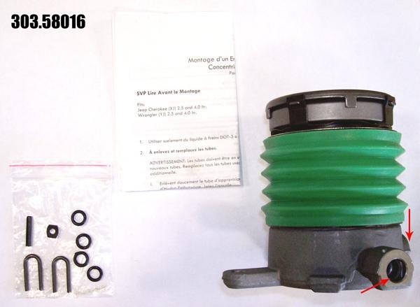 CENTRIC PARTS - Premium Clutch Slave Cylinder-Preferred - CEC 303.58016