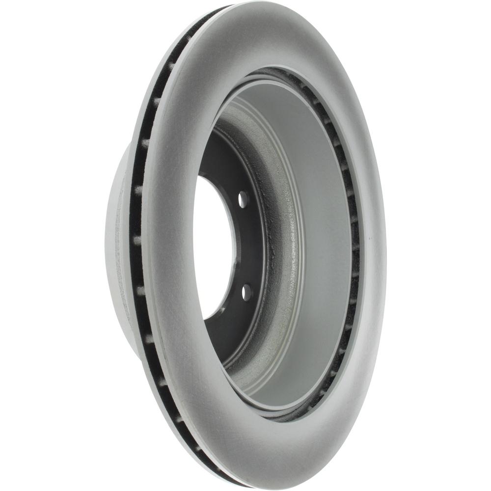CENTRIC PARTS - Centric GCX Disc Brake Rotors - Partial Coating (Rear) - CEC 320.43015