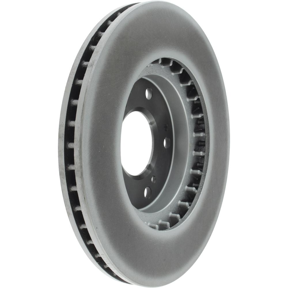 CENTRIC PARTS - Centric GCX Disc Brake Rotors - Partial Coating (Front) - CEC 320.46066