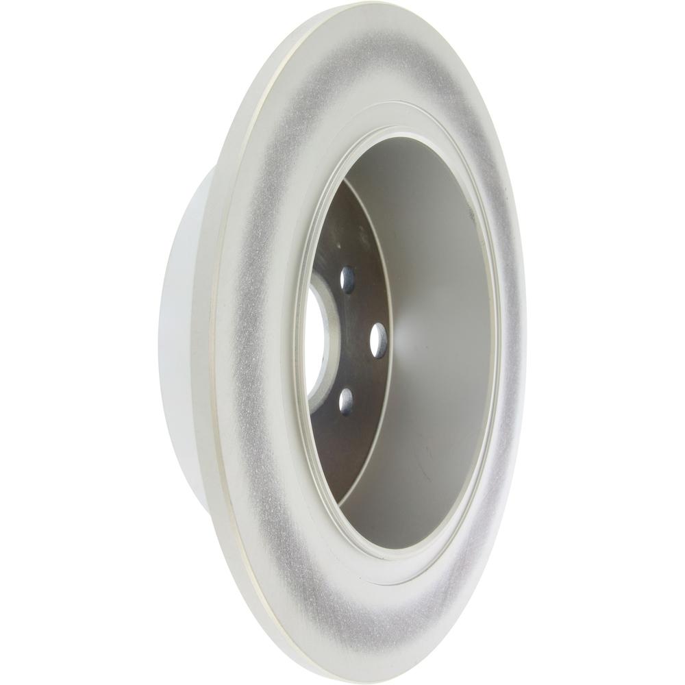 CENTRIC PARTS - Centric GCX Disc Brake Rotors - Partial Coating (Rear) - CEC 320.47033
