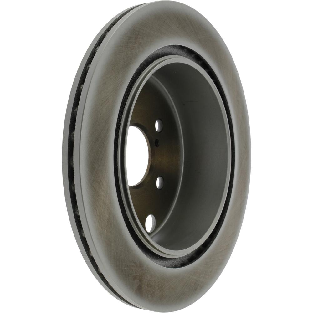 CENTRIC PARTS - Centric GCX Disc Brake Rotors - Partial Coating (Rear) - CEC 320.47035