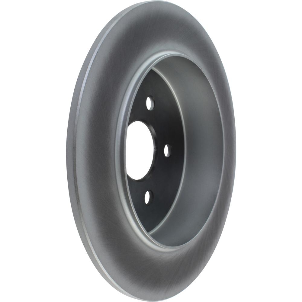 CENTRIC PARTS - Centric GCX Disc Brake Rotors - Partial Coating (Rear) - CEC 320.63043