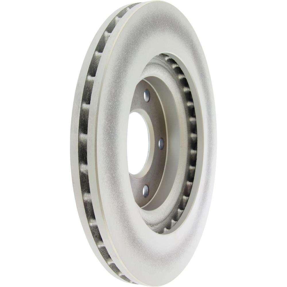 CENTRIC PARTS - Centric GCX Disc Brake Rotors - Partial Coating (Front) - CEC 320.63067