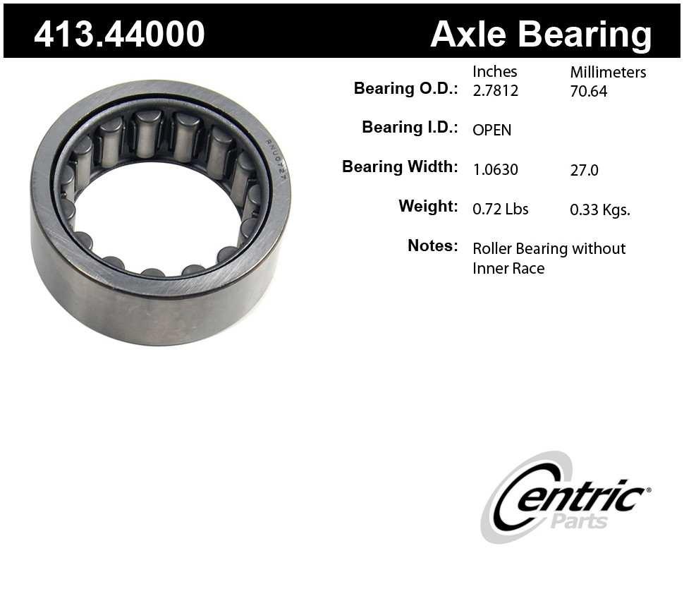 CENTRIC PARTS - Centric Premium Axle Shaft, Hub & Wheel Bearings - CEC 413.44000