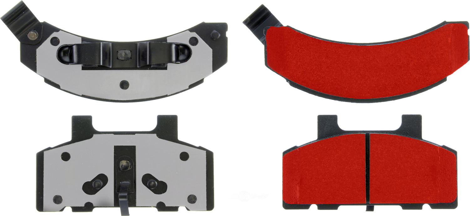 CENTRIC PARTS - PQ PRO Brake Pads w/Shims and Hardware (Front) - CEC 500.02150