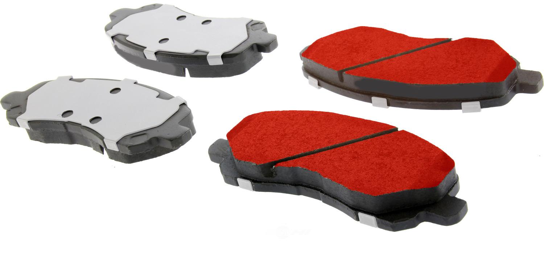 CENTRIC PARTS - Centric PQ PRO Disc Disc Brake Pad Sets (Front) - CEC 500.08660