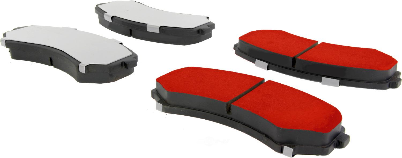 CENTRIC PARTS - Centric PQ PRO Disc Disc Brake Pad Sets (Front) - CEC 500.08670