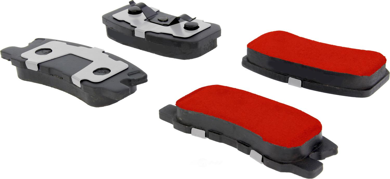 CENTRIC PARTS - PQ PRO Brake Pads (Rear) - CEC 500.08680