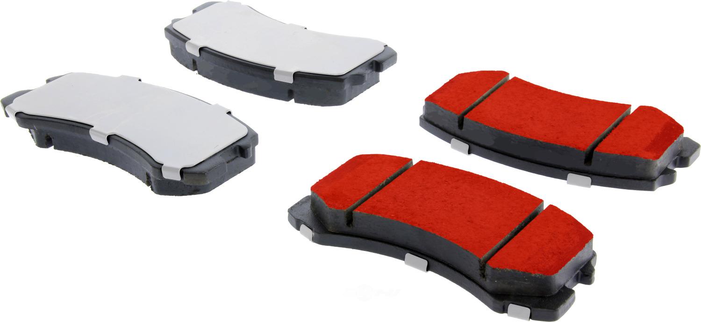 CENTRIC PARTS - Centric PQ PRO Disc Disc Brake Pad Sets (Front) - CEC 500.09040