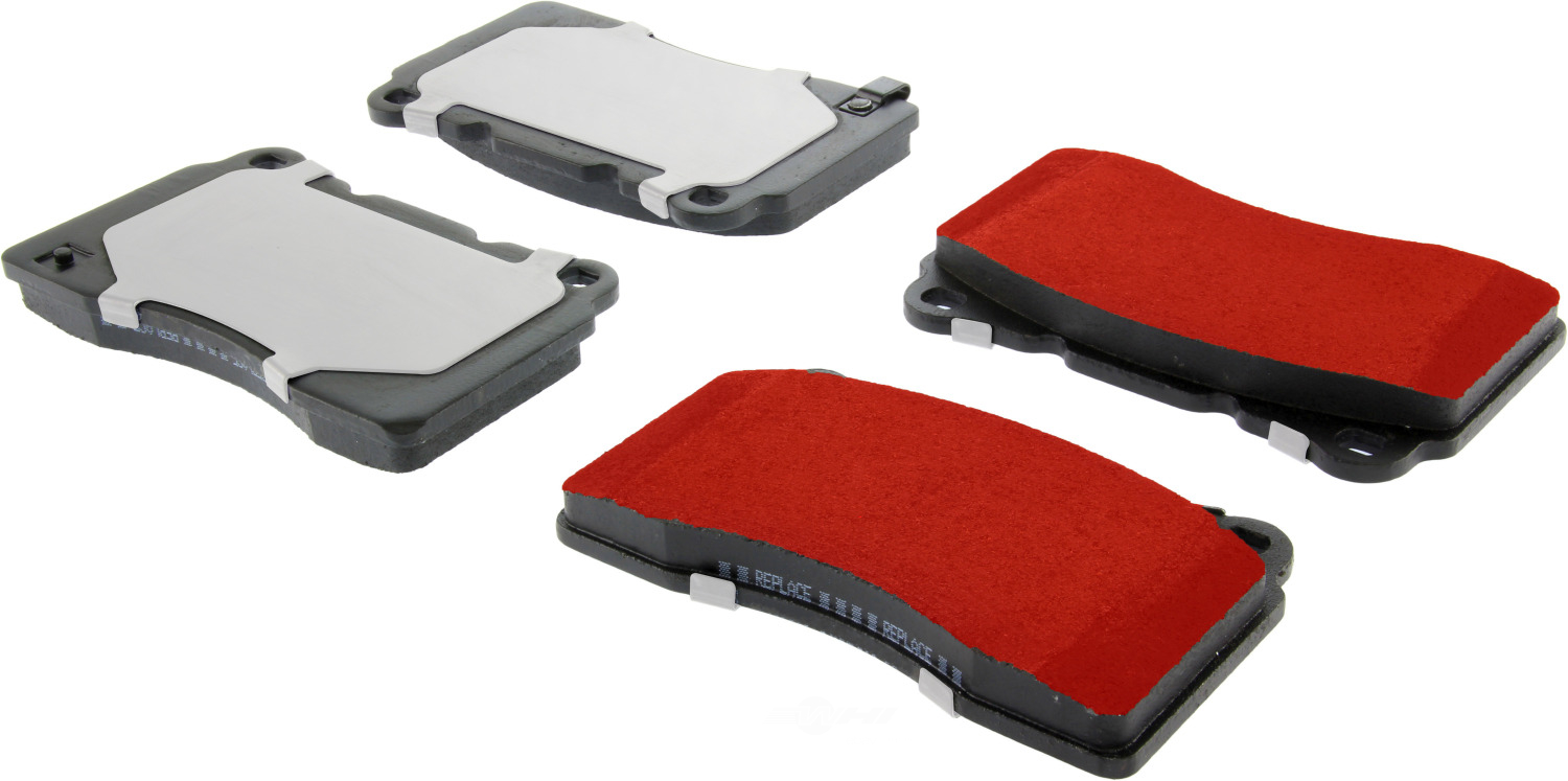 CENTRIC PARTS - PQ PRO Brake Pads w/Shims and Hardware (Front) - CEC 500.10010