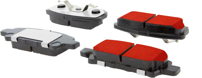 CENTRIC PARTS - Centric PQ PRO Disc Disc Brake Pad Sets (Rear) - CEC 500.10370