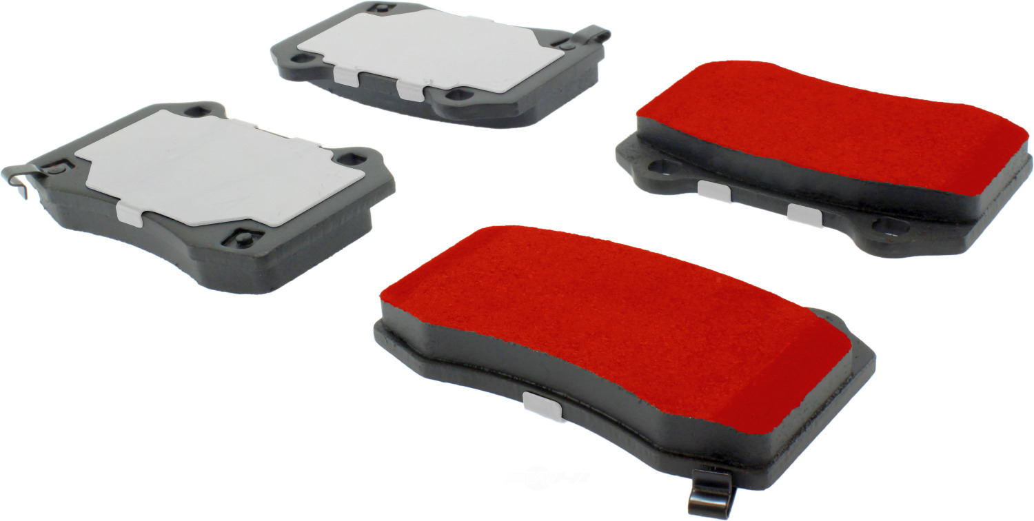 CENTRIC PARTS - PQ PRO Brake Pads w/Shims and Hardware (Rear) - CEC 500.10530