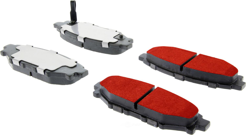 CENTRIC PARTS - Centric PQ PRO Disc Disc Brake Pad Sets (Rear) - CEC 500.11140