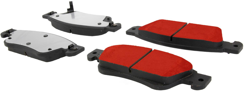 CENTRIC PARTS - Centric PQ PRO Disc Disc Brake Pad Sets (Front) - CEC 500.12870
