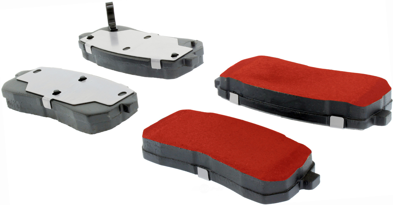 CENTRIC PARTS - PQ PRO Brake Pads w/Shims and Hardware (Rear) - CEC 500.13020