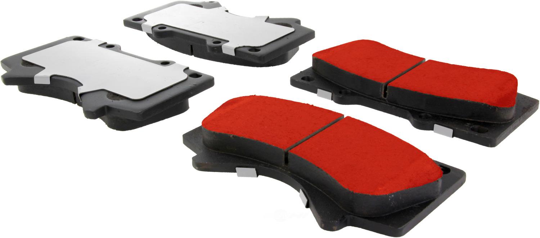 CENTRIC PARTS - Centric PQ PRO Disc Disc Brake Pad Sets (Front) - CEC 500.13030