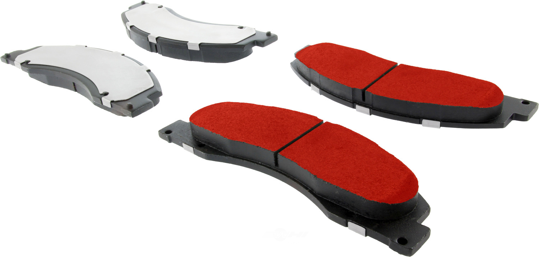 CENTRIC PARTS - Centric PQ PRO Disc Disc Brake Pad Sets (Front) - CEC 500.13280