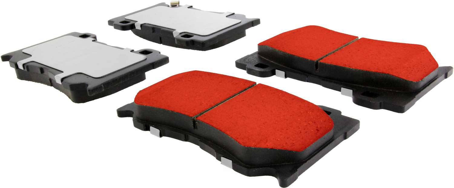 CENTRIC PARTS - PQ PRO Brake Pads w/Shims and Hardware (Front) - CEC 500.13460