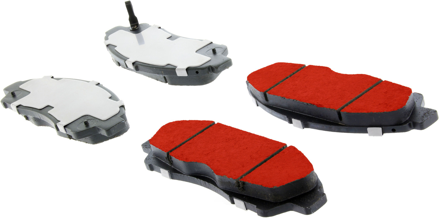 CENTRIC PARTS - PQ PRO Brake Pads (Front) - CEC 500.13781