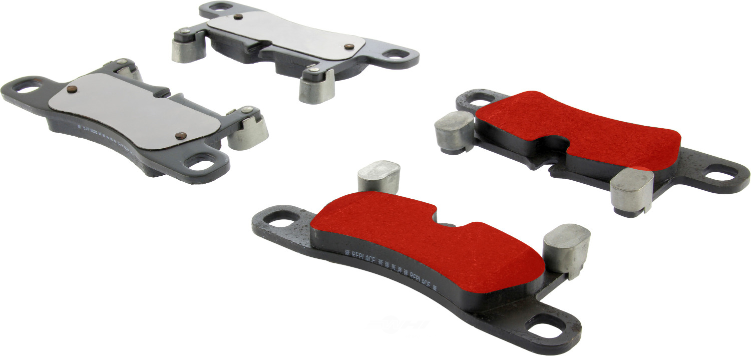 CENTRIC PARTS - PQ PRO Brake Pads w/Shims and Hardware (Rear) - CEC 500.14530