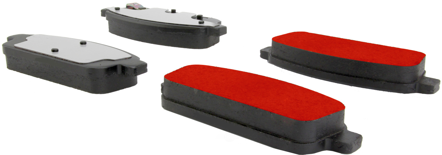 CENTRIC PARTS - PQ PRO Brake Pads w/Shims and Hardware (Rear) - CEC 500.14680