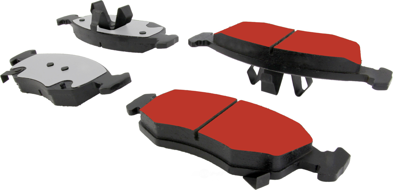 CENTRIC PARTS - PQ PRO Brake Pads w/Shims and Hardware (Front) - CEC 500.15680