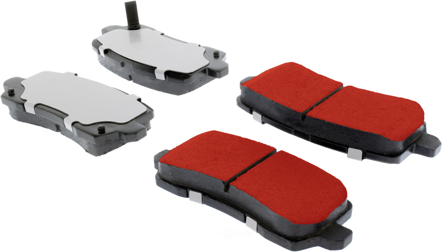 CENTRIC PARTS - PQ PRO Brake Pads w/Shims and Hardware (Rear) - CEC 500.16980