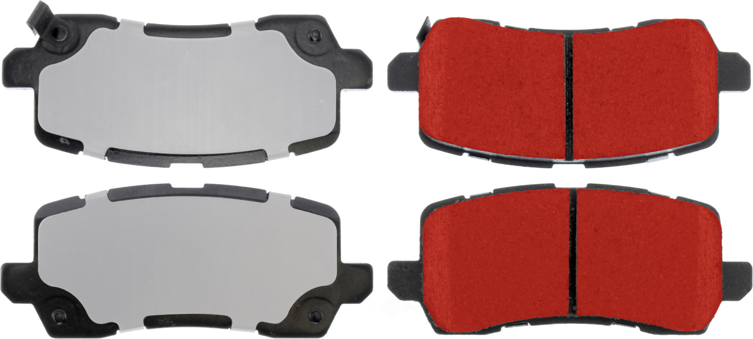 CENTRIC PARTS - PQ PRO Brake Pads w/Shims and Hardware - CEC 500.16980