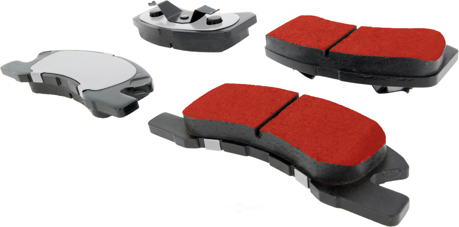 CENTRIC PARTS - PQ PRO Brake Pads w/Shims and Hardware (Front) - CEC 500.17310